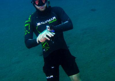Vid freediving filipini - poziranje